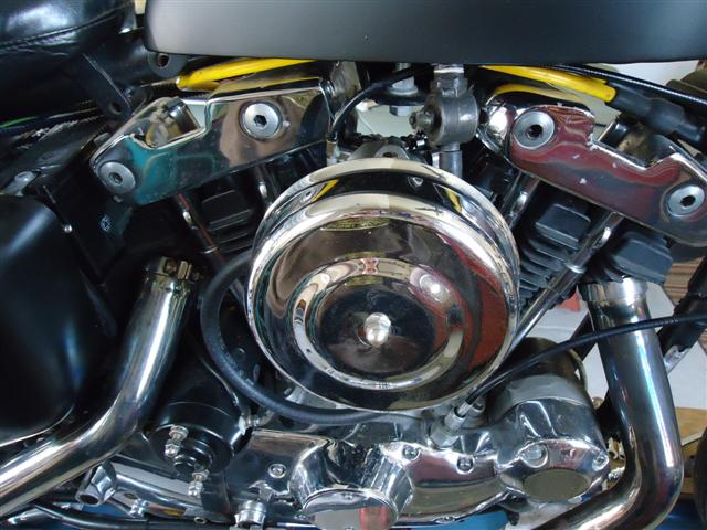 motorcycle carb, fuel, and air