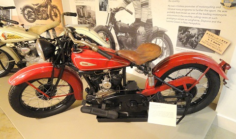 1932 Indian Scout Pony in Springfield Museum