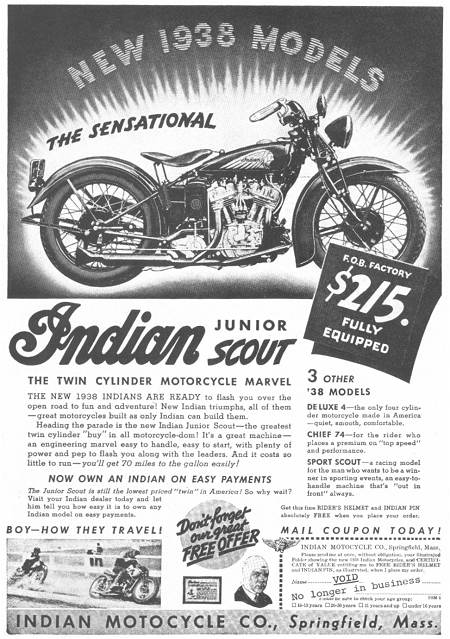 1938 Indian Junior Scout