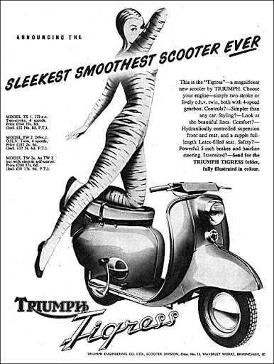 vintage scooter history