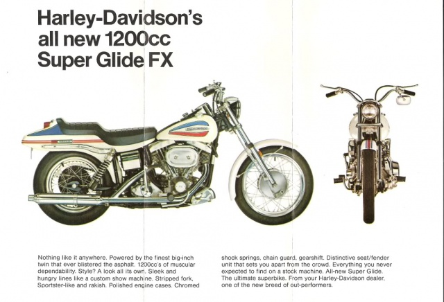 Harley-Davidson FX Shovelhead history