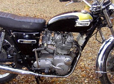 Kick-Starting An Old Motorcycle