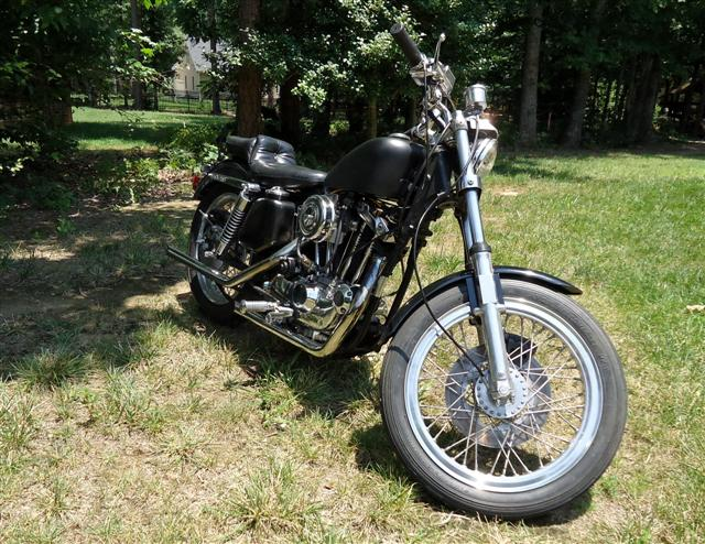 1976 Sportster project