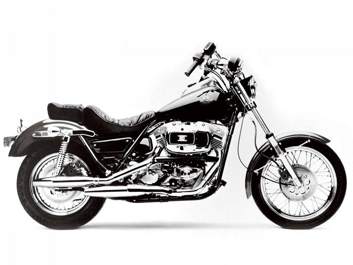 Harley FX Models history