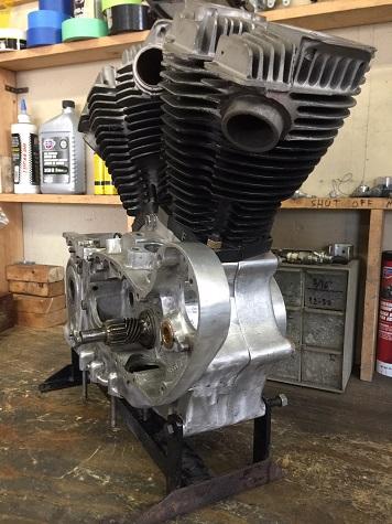 900cc Ironhead Sportster build