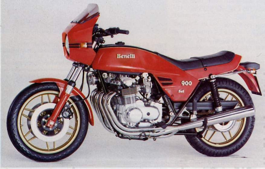 Benelli Sei six-cylinder motorcycle