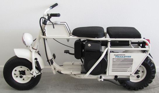 Cushman Scooter restored