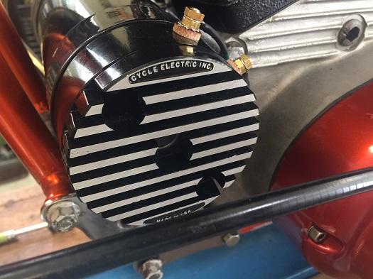 generator upgrade for Harley Sportster