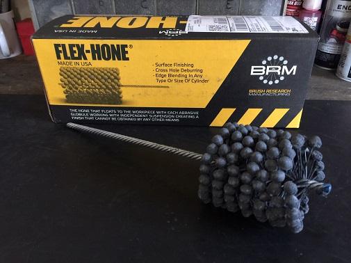 Brush Research-240 grit flex-hone
