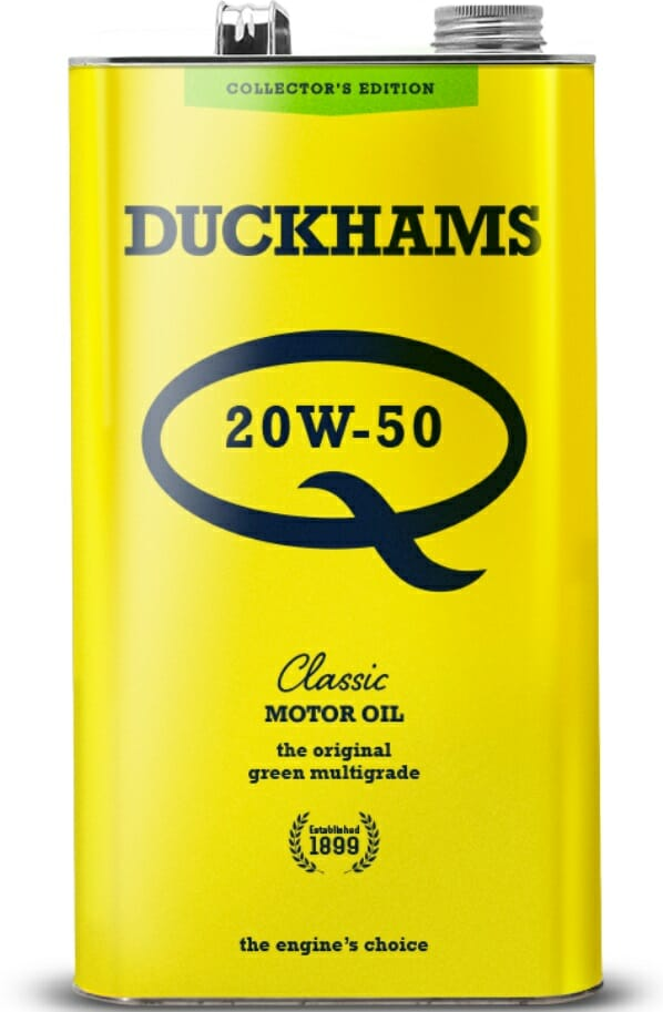 Duckhams Classic Q  oil for classic motorcycles