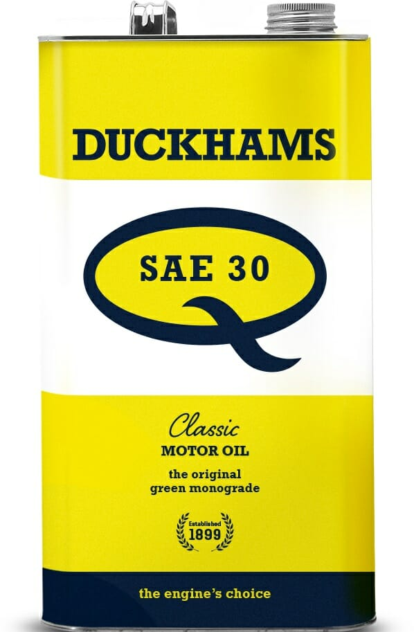 Duckhams oil for vintage and classic motorcycles