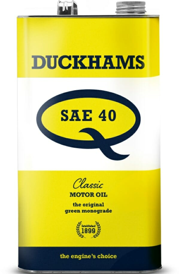 Duckhams Classic Q oil for classic cars and motorcycles