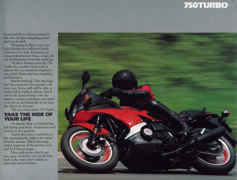 Kawasaki GPz-750 turbo