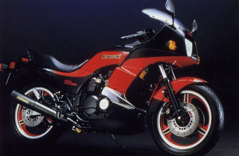 Kawasaki GPz-750 turbo motorcycle image