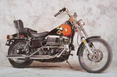 Harley FX Shovelhead history