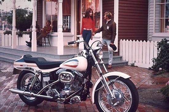 Harley-Davidson Super-Glide ad