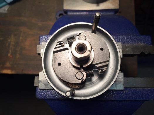 Harley 45 ignition timer