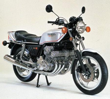 Honda CBX-1000 six-cylinder motorcycle