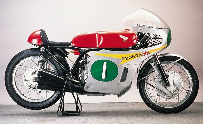 1965 Honda RC-series six-cylinder motorcycle
