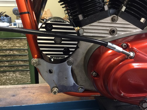 how to install a Cycle Electric generator on an Ironhead Sportster