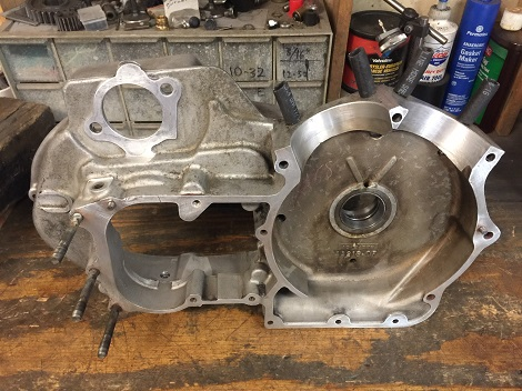 Ironhead Sportster engine assembly
