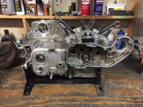 1981 Ironhead engine assembly