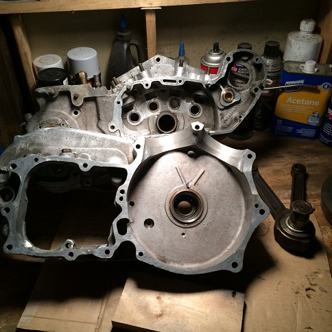 Ironhead engine cases