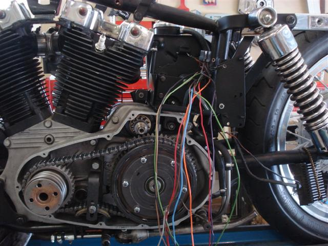 basic motorcycle wiring rh classic motorcycle build com motorcycle wiring rewiring a motorcycle stator