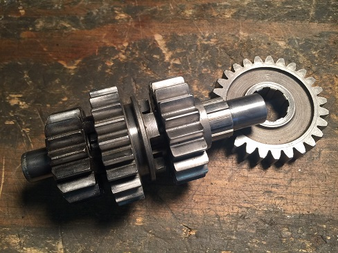 Ironhead transmission countershaft differences