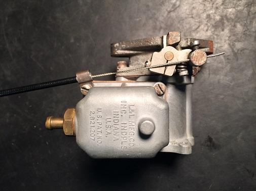 Linkert carburetor for Servi-car