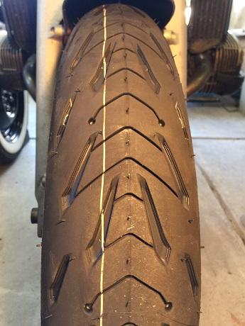 Michelin Pilot Road tire 120-70-ZR17