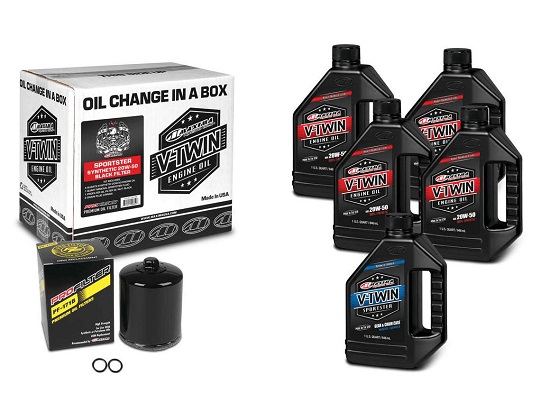 H-D oil change kit