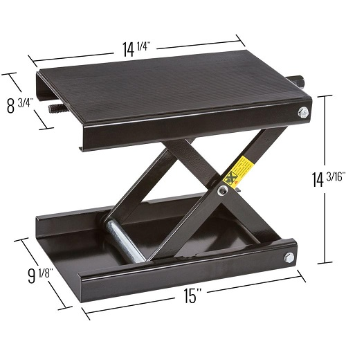 motorcycle scissor lift jack