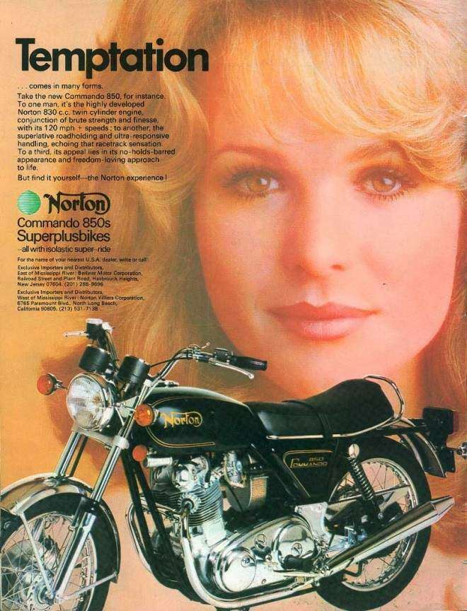 Norton 850 Commando history