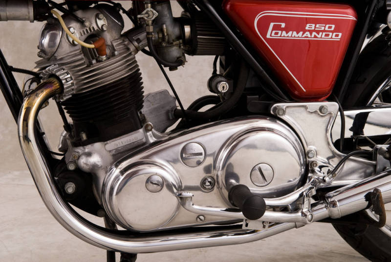 Norton Commando engine