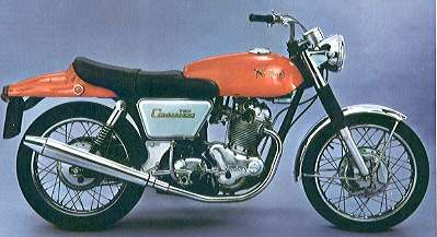 Vintage British Motorcycles, Norton Commando Fastback
