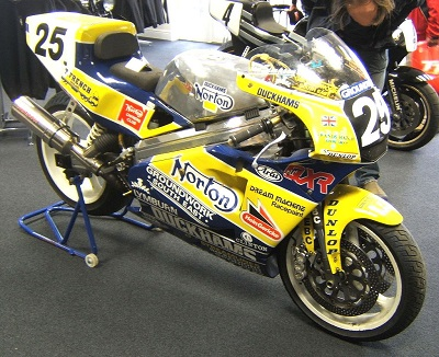 Duckhams Norton Rotary Race Bike