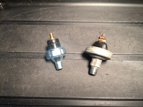 Harley-Davidson 45 flathead oil pressure switch