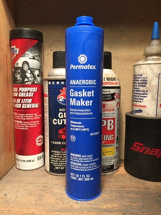 anaerobic flange sealant for engine cases