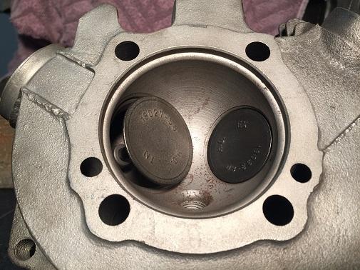 rebuild motorcycle cylinder heads