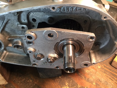 ironhead-transmission remove and install