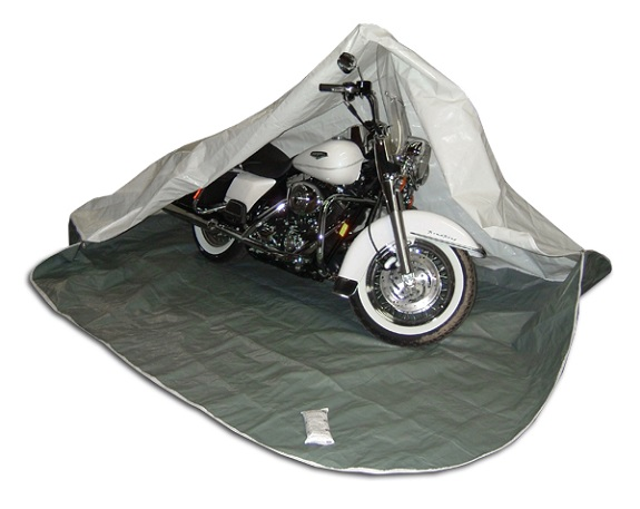 Enclosed Motorcycle Shelter : Best motorcycle cover