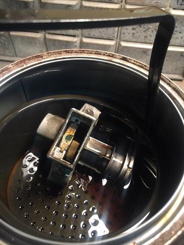 soaking stuck key switch in Chem-Dip