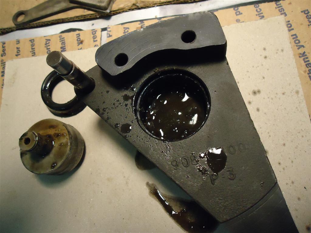 Rebuilding a Sportster caliper