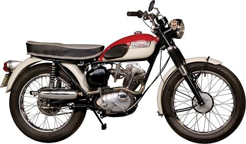 Vintage Triumph Tiger Cub