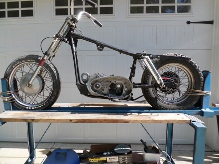 Early Sportster project