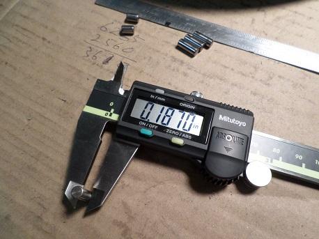 digital caliper for engine building