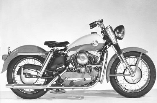 Early Ironhead Sportster Build