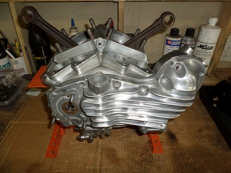 motorcycle engine build