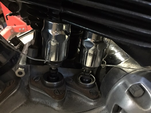 Harley 45 valve covers